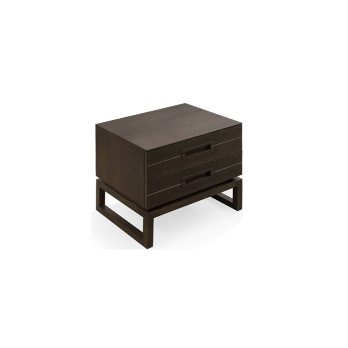 GL1507 BEDSIDE TABLE 600*420*500mm COFFEE COLOUR