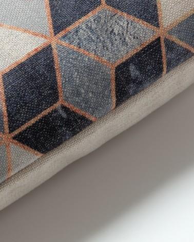 AA2445J03 INSOLIT Cushion 45x45 fabric grey / fluff
