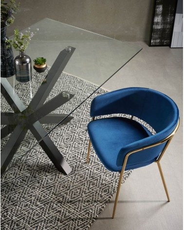 ARYA(ARGO) table 200x100 black