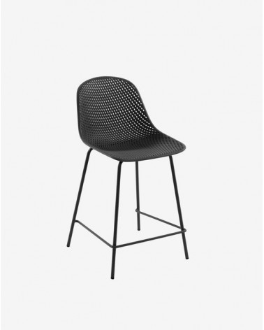 CC1221S02H - Grey Quinby stool height 65 cm