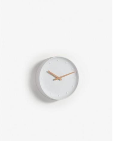 WANU(WANA) wall clock porcelain white