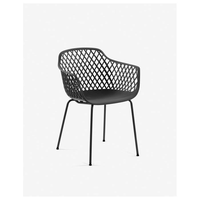 CC1223S02 Grey Quinn chair