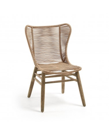 KUBIC armchair beige washed...