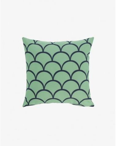 EKENE green 45 x 45 cm cushion / Fluff