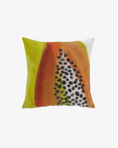 DIKELEDI papaya 45 x 45 cm cushion / Fluff