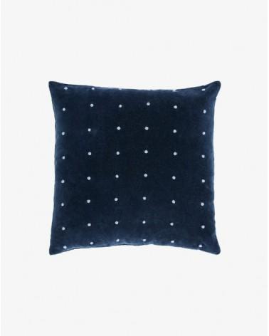 AINES  blue corduroy cushion   45 x 45 cm / Fluff