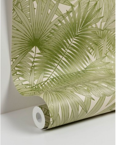 TROPIC 10 x 0,53 m green wallpaper