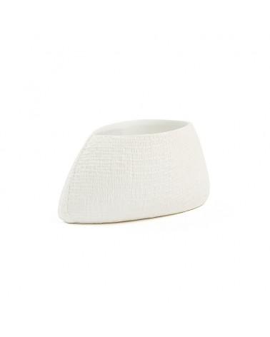 CREARE vase 13 cm ceramic white