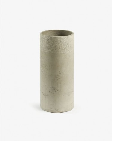 MARTA umbrella stand cement grey