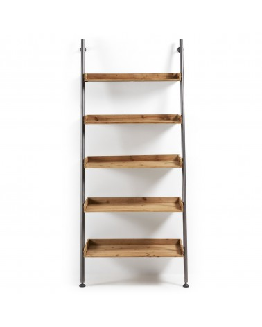 BELAMO(MOBELA) shelf wood and iron a841