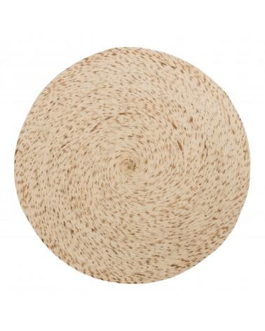 TAKASHI Ø 200 cm white rug