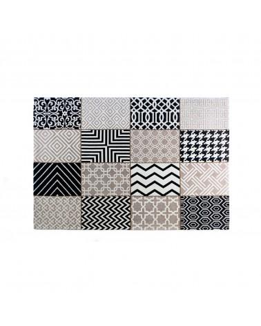 SPIROS rug 160x230 chenille dark grey