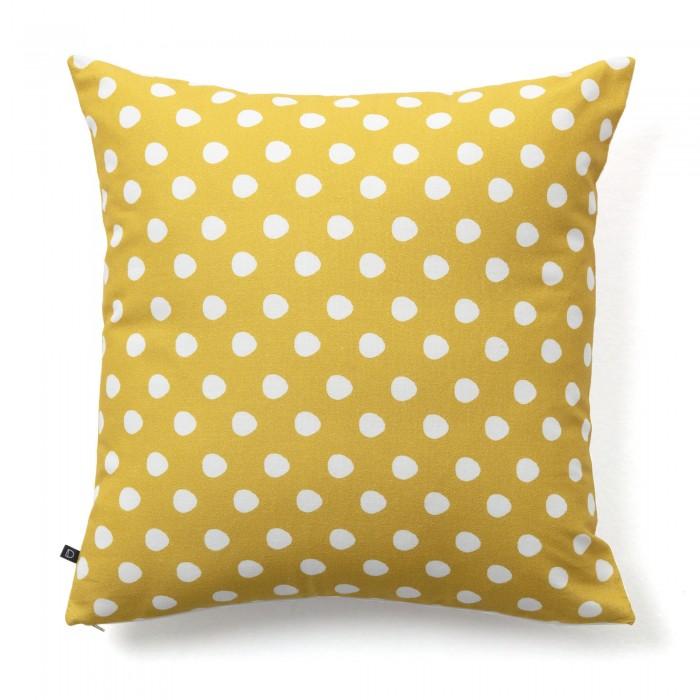 FABIELA polka dot decorative cushion 45*45 / fluff
