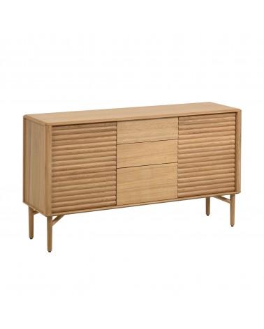 Lenon oak wood sideboard 152 x 86 cm