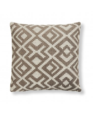 MALAWI cushion   45 x 45 cm brown / Fluff