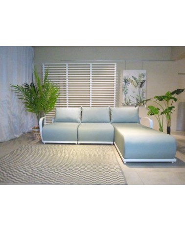 WINDSOR LSHAPE SOFA 220 SHEASHELL WHITE MATT