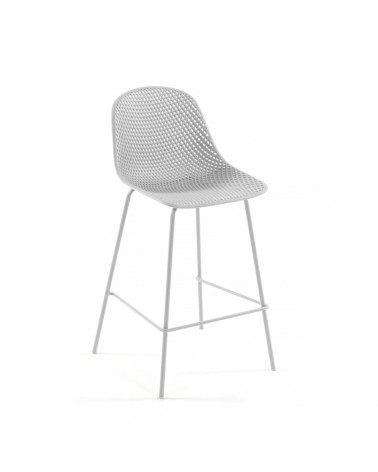 CC1221S05 White Quinby stool height 75 cm