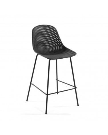 CC1221S02 - Grey Quinby stool height 75 cm