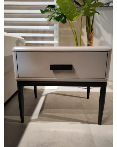 SILENCIO NIGHT TABLE 540*400*480MM OFF WHITE
