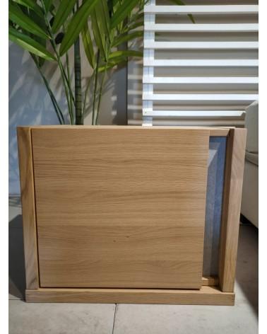 XKN20501 BED TABLE 1 DOOR LIGHT OAK