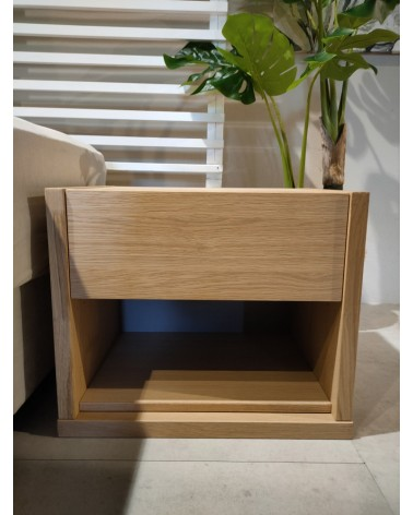 XKN20503A BED SIDE TABLE LIGHT OAK - 545mm