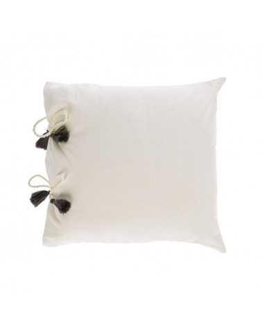 AA8356J05 VARINA 100% cotton cushion in white 45 x 45 cm and fluff inside