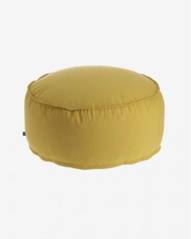 AA6373CI81 Round Ø 70 cm Mustard-yellow NEDRA pouf