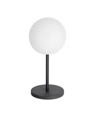 AA7973S05 DINESH table lamp in black steel