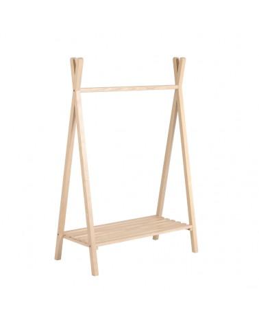 AA7109M46 MARALIS kids teepee clothes rail in ash 148 x 50 cm