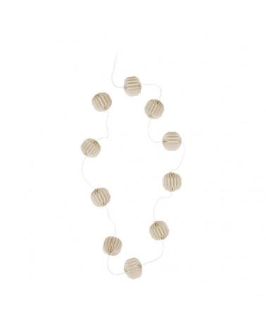 YULIA beige string LED...