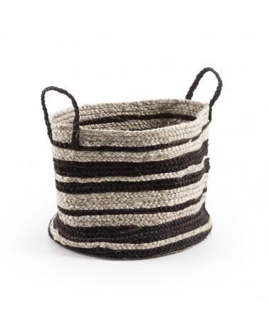 AA1092FN01 Saht basket natural and black