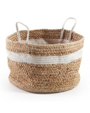 AA1098FN05 Saht basket natural and white