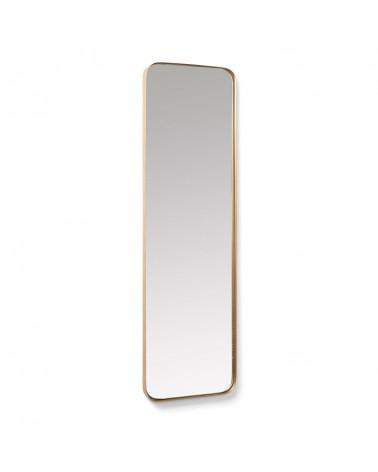 AA2547R83 - Marco gold metal wall mirror 30 x 100 cm