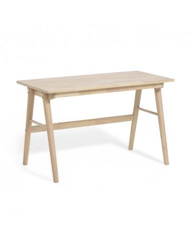 CC1342M87 - Curie solid rubber wood desk, 120 x 60 cm
