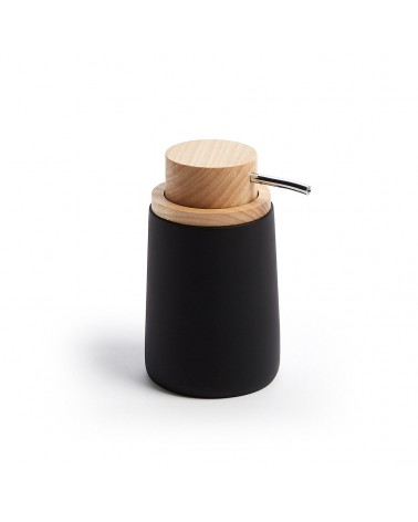 AA2855Y01 - Jenning black and beech wood soap dispenser