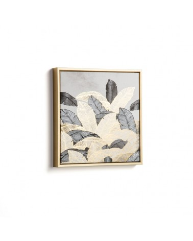 AA4473 - Imogen gold and grey picture 40 x 40 cm