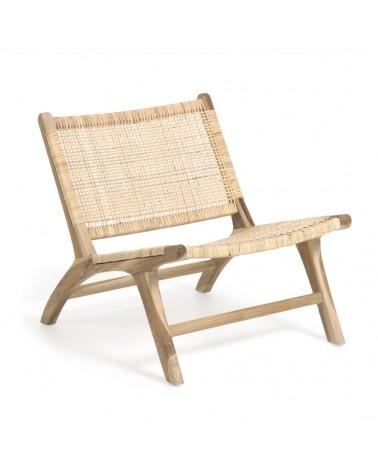 CC2138M47 - Beida solid teak armchair