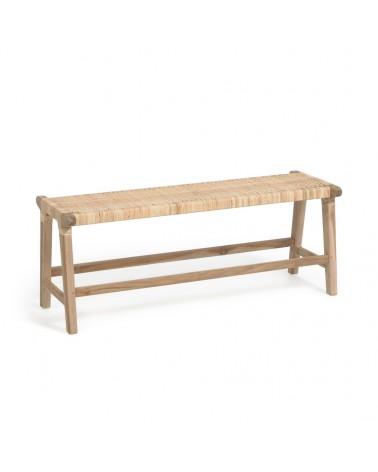 CC2148M47 - Beida solid teak bench, 120 cm