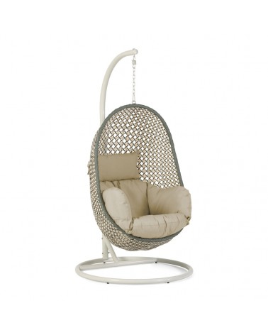 CC5969FN35 - Cira multicoloured hanging chair with base