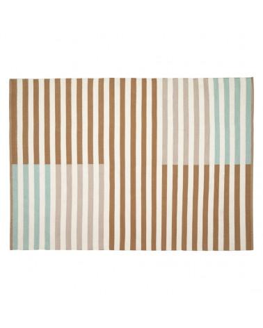 AA8222J10 - Aien multi-coloured striped PET mat