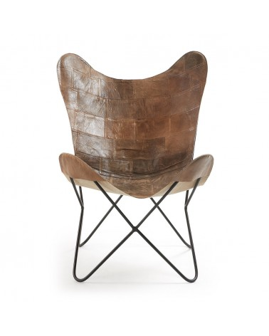 CC0352P10 - Patchwork leather Fly armchair