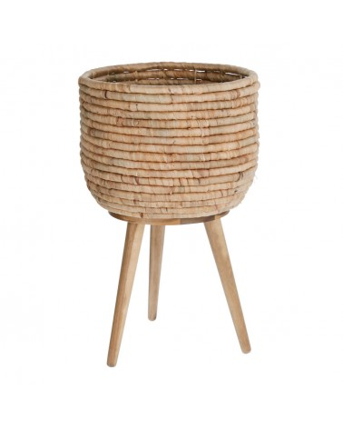 AA8173FN46 - Colomba planter made from natural fibres, 34 cm