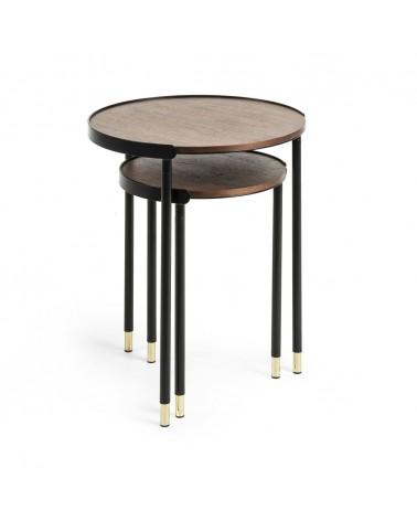 CC0756M46 Anabel side tables Ø 50 / Ø 38 cm
