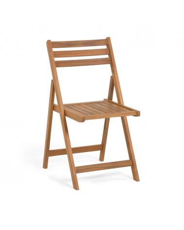 CC2160M46 Daliana folding chair in solid acacia FSC 100%