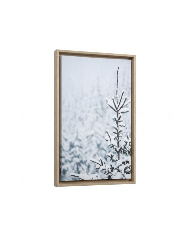 AA6693 Annelise snowy fir tree picture 50 x 30 cm