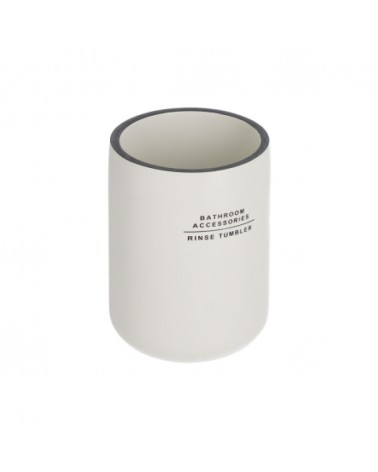 AA5589Y05 - Lali white toothbrush holder