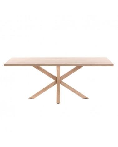 CC1312M46 - Argo table 160 cm natural melamine wood effect legs