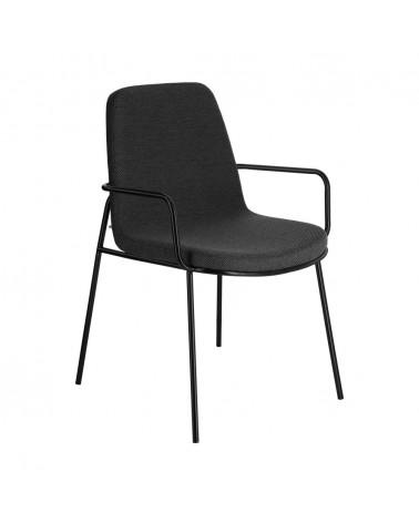 CC5165VD15 - Chair Giuilia dark grey