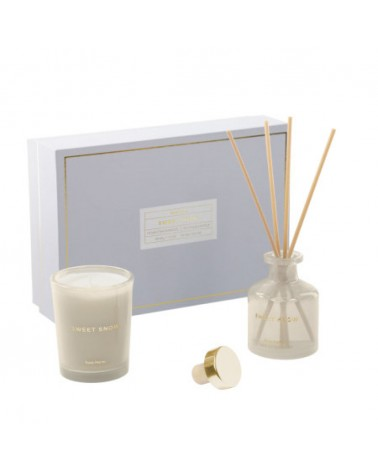 AA8912C12 - Sweet Snow set of 50 ml diffuser and 70 g scented candle