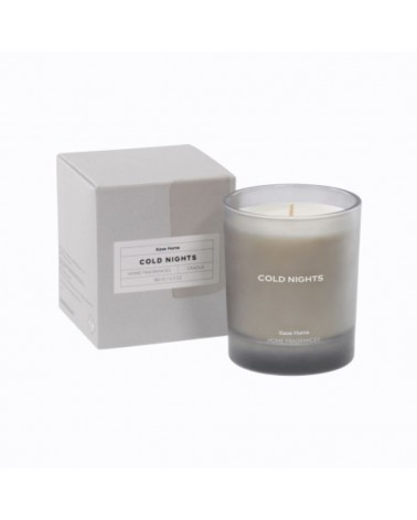 AB0221C01 - Cold Nights grey scented candle 180 g